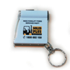 Solid Plus Tape Measure Key Ring